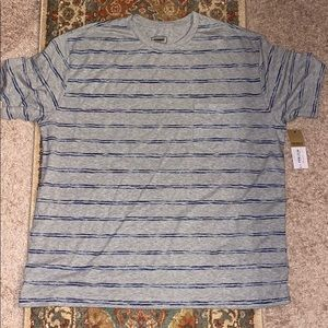 Grey Striped Foundry T-Shirt